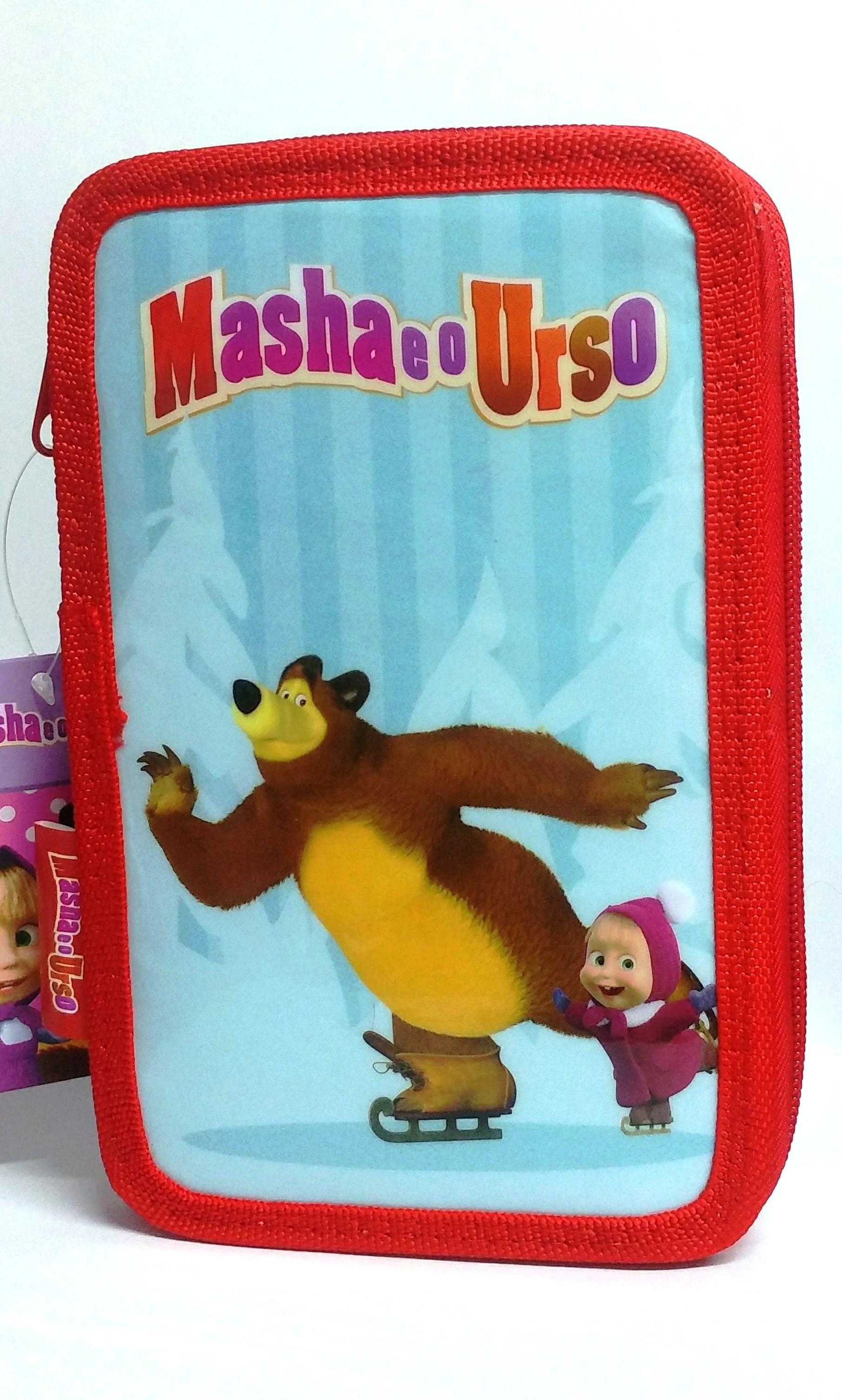 PLUMIER MASHA Y EL OSO