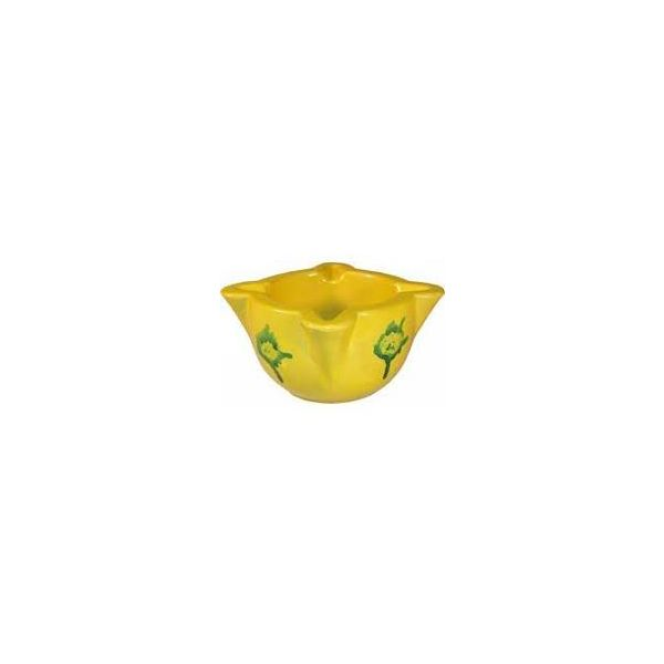 MORTERO CERAMICA AMARILLO MINI 8cm