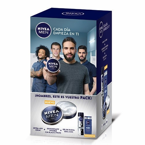 NIVEA MEN PACK CREMA+GEL+ DESODORANTE