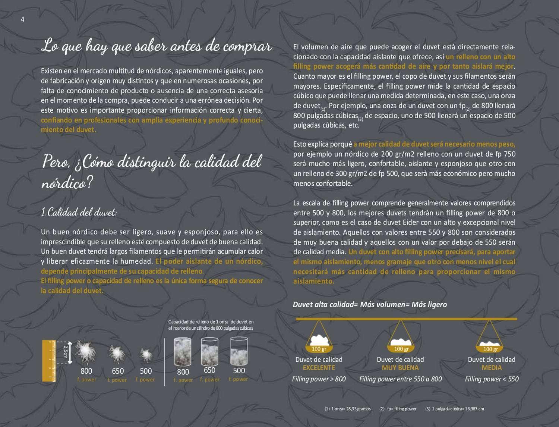 RELLENO NORDICO UNIVERSAL PREMIUM 180 150/160cm