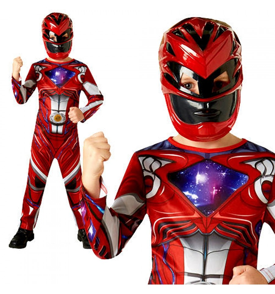 DISFRAZ POWER RANGER RED