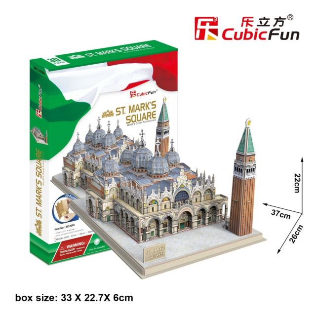 3D PUZZLE ST. MARK´S SQUARE