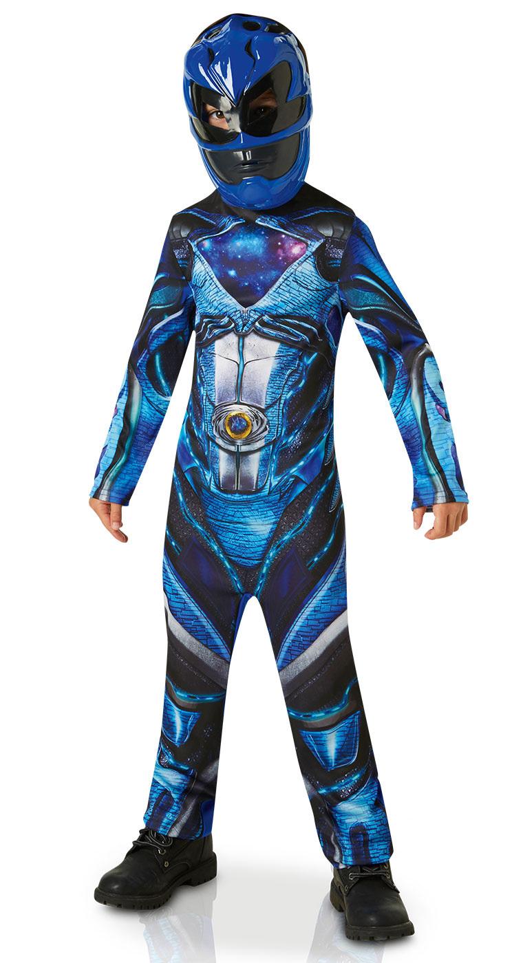 DISFRAZ POWER RANGER BLUE