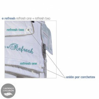 RELLENO NORDICO DECUSSO REFRESH 4 ESTACIONES 105 cm
