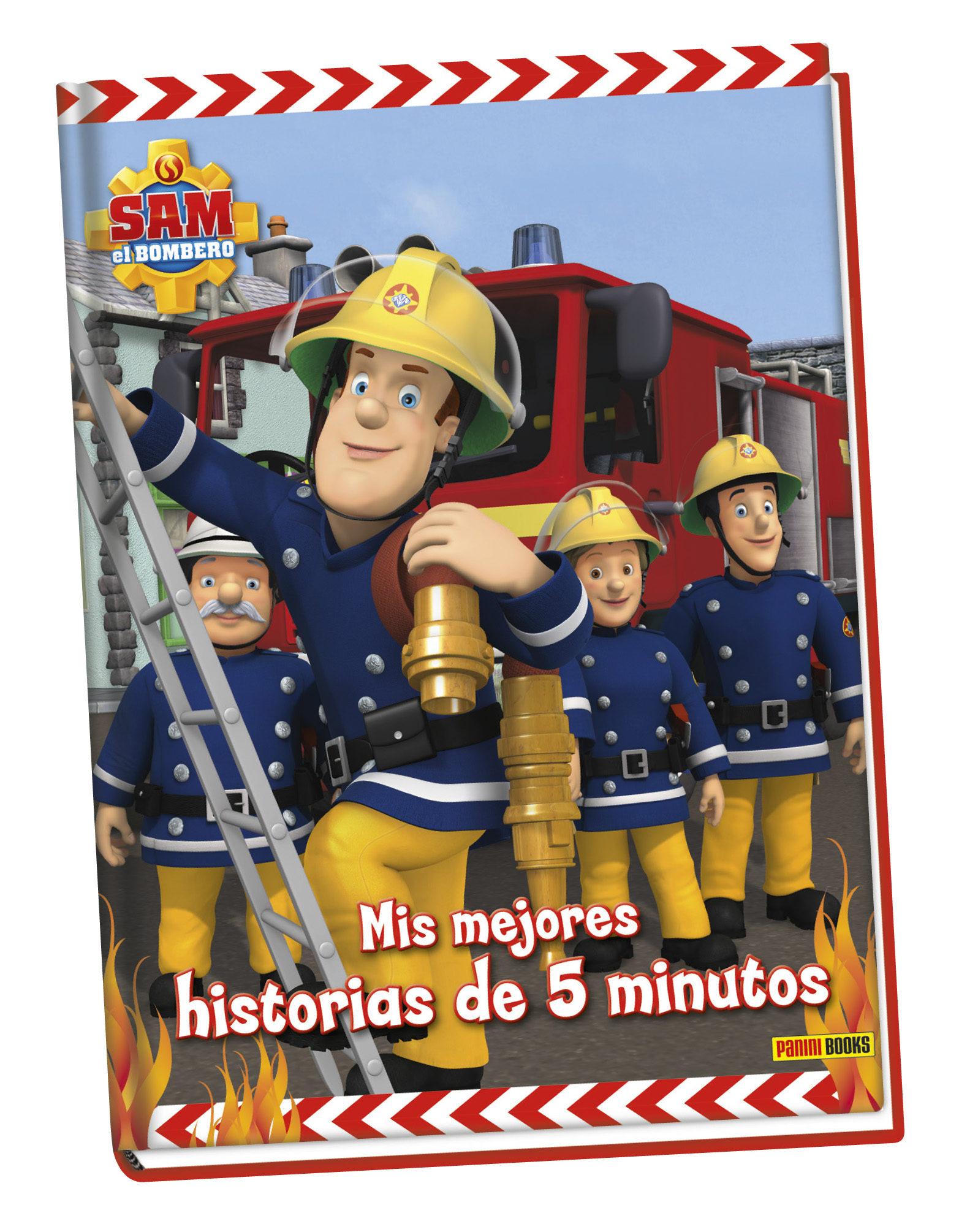 LIBRO SAM EL BOMBERO MIS MEJORES HISTORIAS