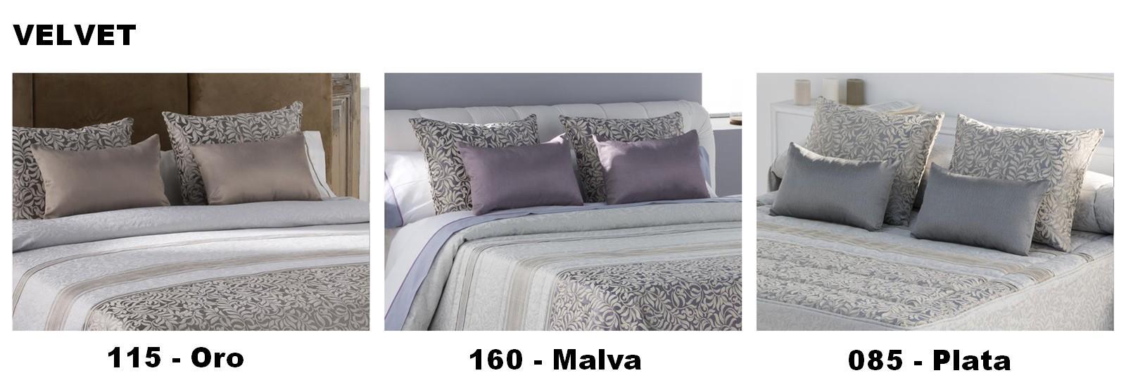 COLCHA BOUTI VELVET 160 - MALVA 105 cms