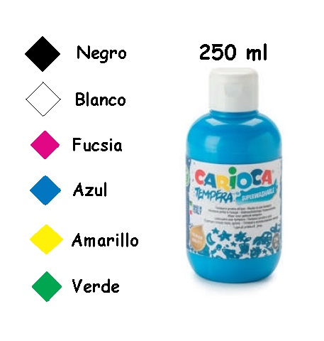 TEMPERA - BOTELLA 250 ML