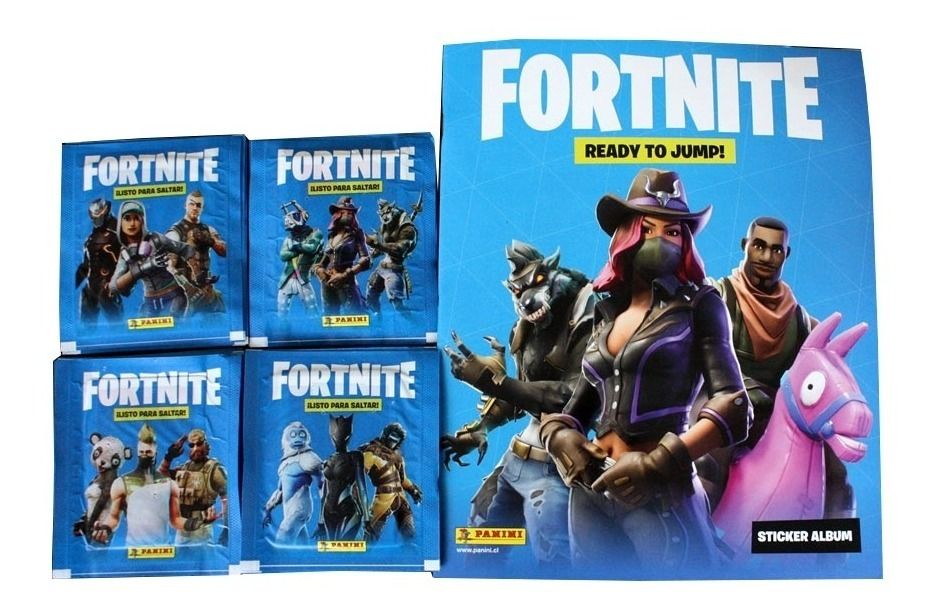 FORTNITE ALBUM + 4 SOBRES