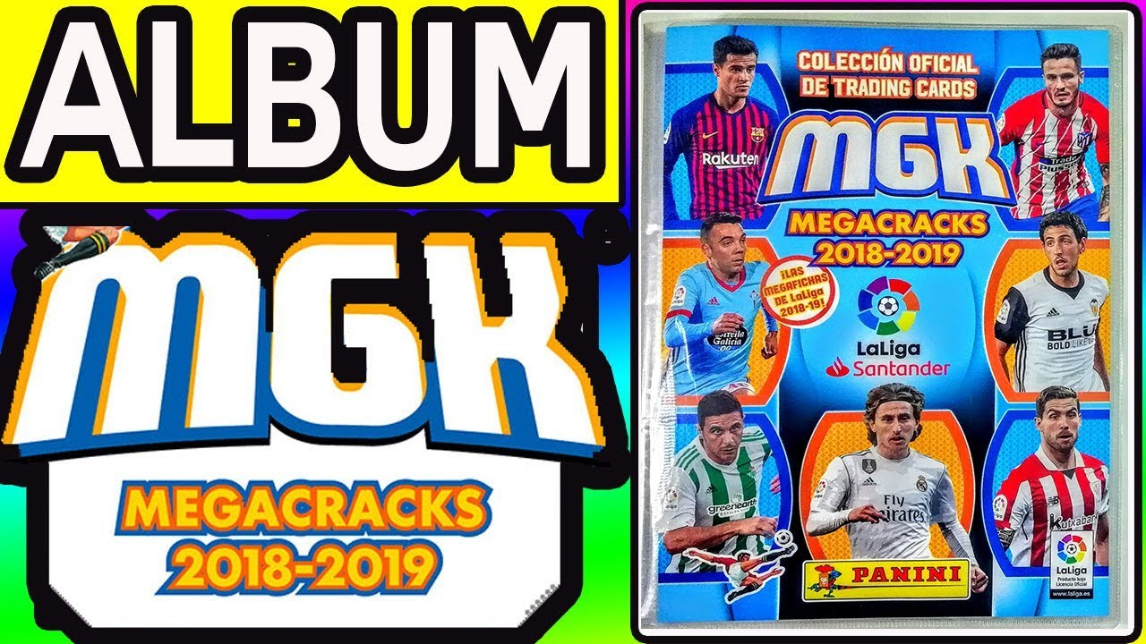 ALBUM MEGA CRACKS 2018-2019