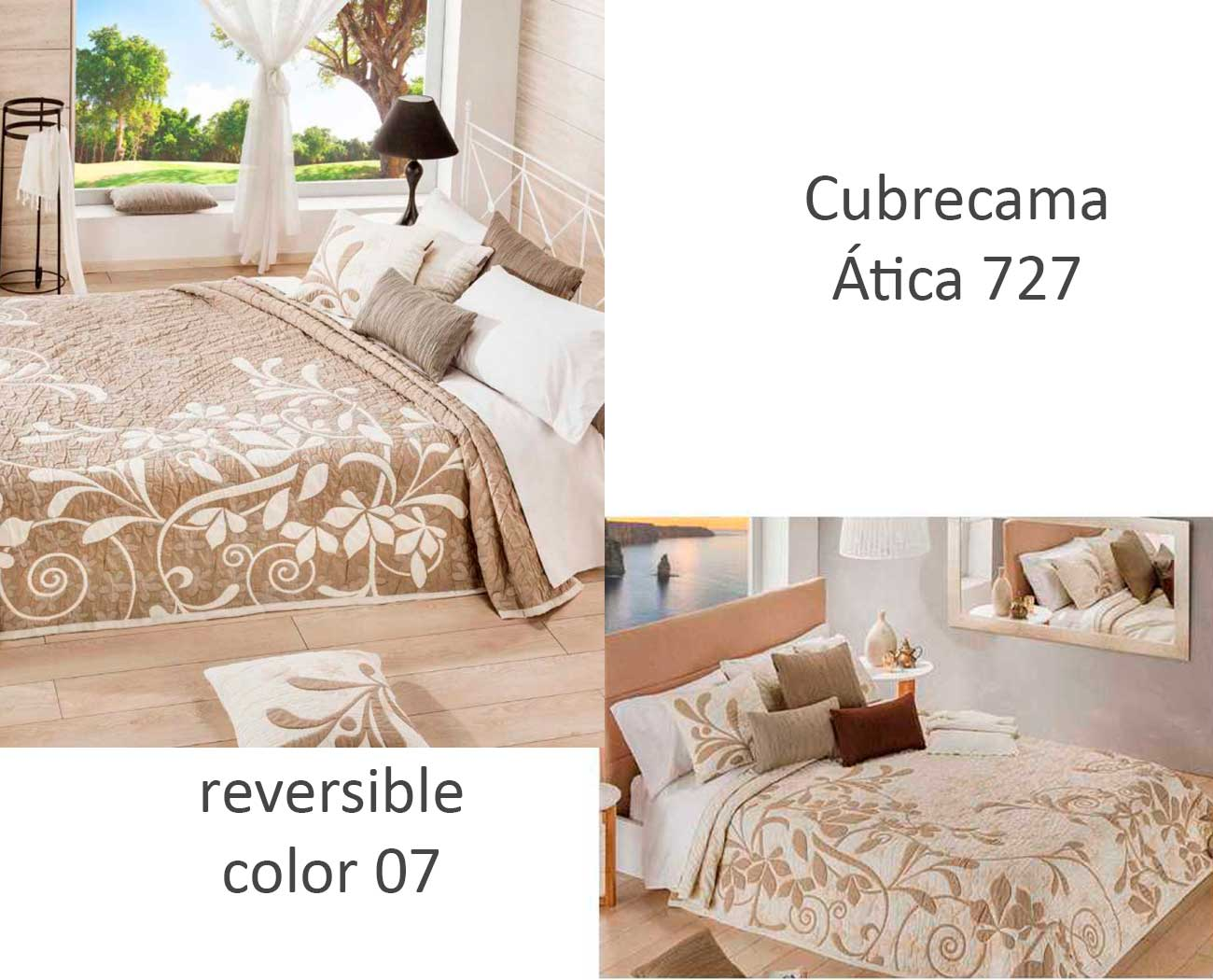 CUBRECAMA ATICA 727