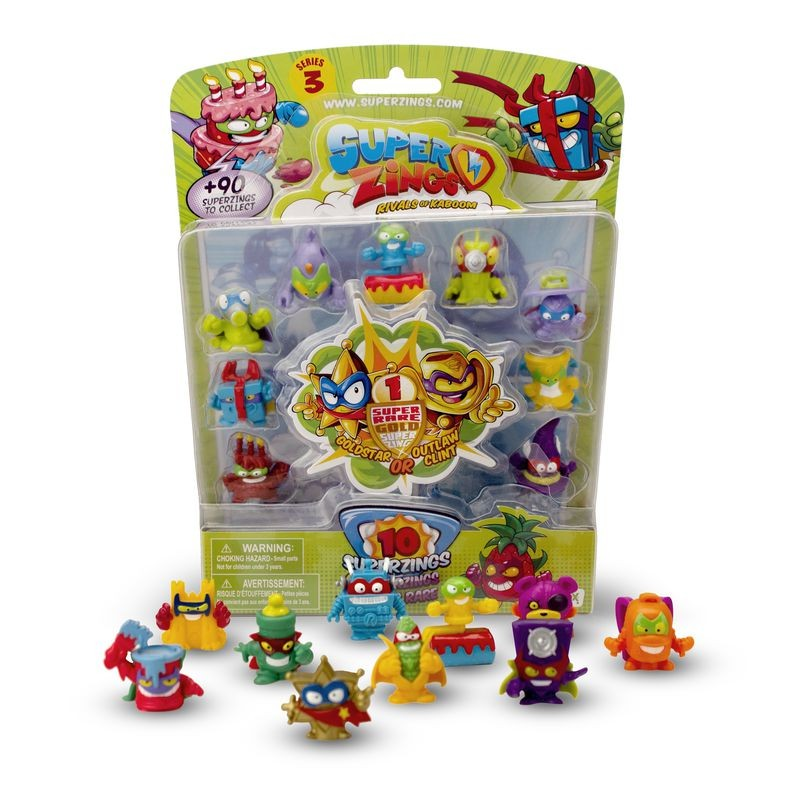 BLISTER 10 SUPERZINGS SERIE 3