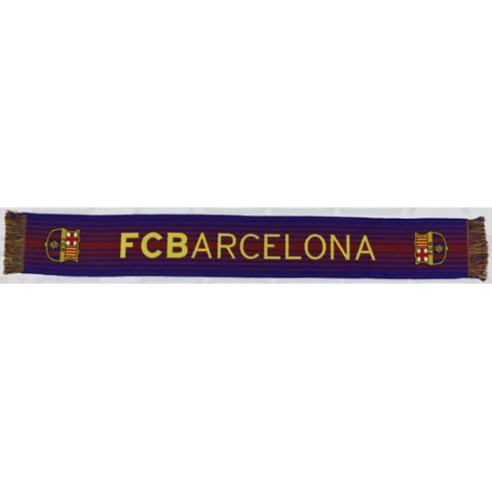 Bufanda Barça telar blaugrana·