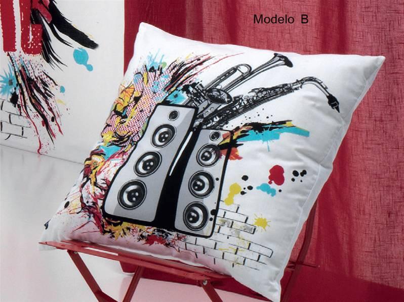 COJINES MUSIC Modelo B cojin 50 x 70