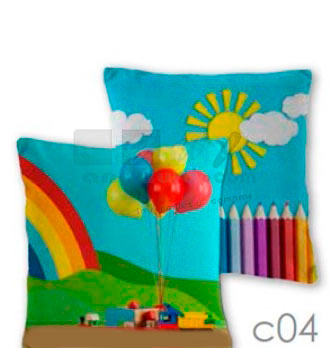 COJIN JUNIOR 577 color 04 30 x 30 cms