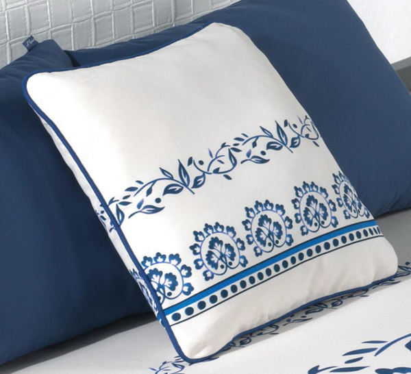 COJINES RONDA 20 - azul 50 x 50