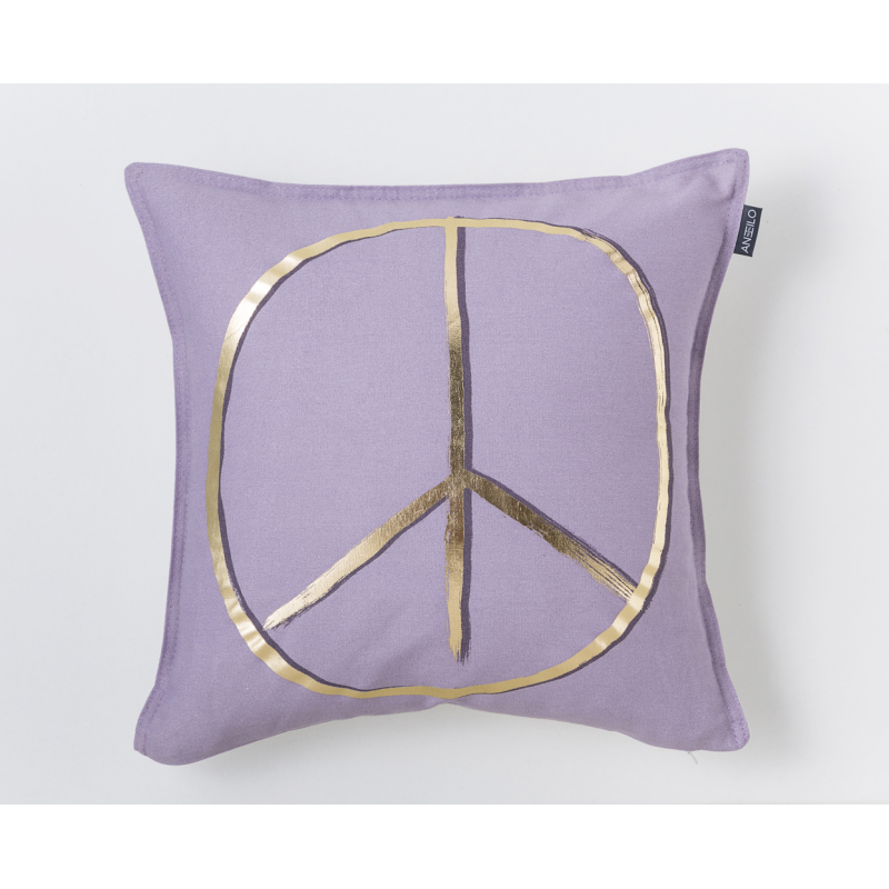 COJIN ESTAMPADO PEACE
