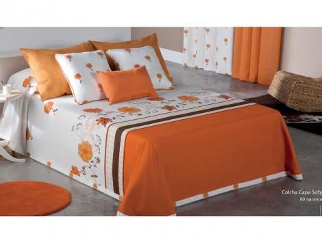 COLCHA CAPA SOFY 60 - naranja 200 cms 60 - naranja 180 cms 60 - naranja 160 cms 60 - naranja 150 cms 60 - naranja 135 cms 60 - naranja 120 cms 60 - naranja 105 cms 60 - naranja 90 cms