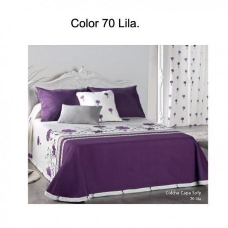 COLCHA CAPA SOFY 70 - lila 200 cms 70 - lila 180 cms 70 - lila 160 cms 70 - lila 150 cms 70 - lila 135 cms 70 - lila 120 cms 70 - lila 105 cms 70 - lila 90 cms