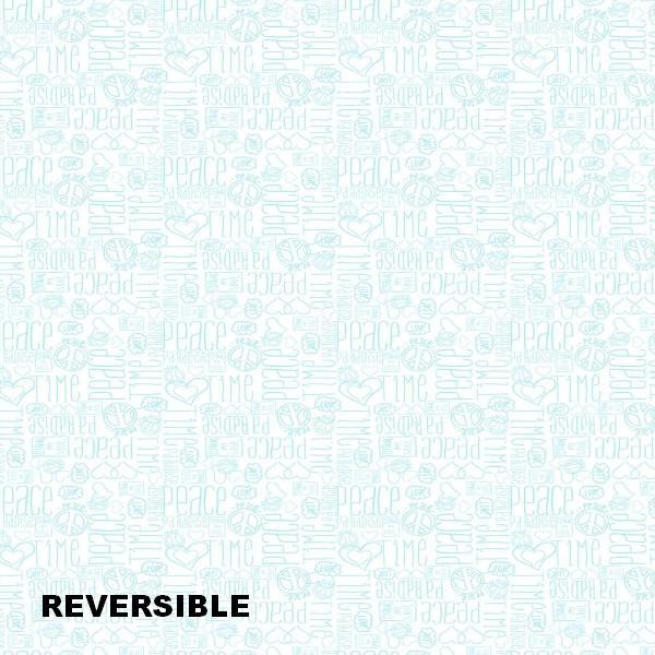 COLCHA BOUTI REVERSIBLE PEACE 80 cms