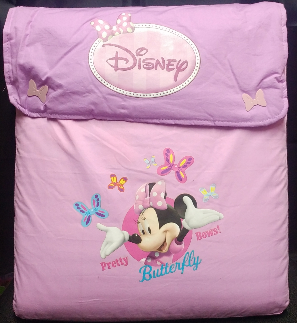 CUBRE DISNEY MINNIE LILA