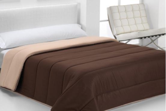 COMFORTER BICOLOR beige - marrón 105 cms beige - marrón 180 cms beige - marrón 150 cms beige - marrón 135 cms beige - marrón 90 cms