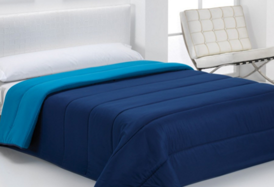 COMFORTER BICOLOR marino - azul 105 cms marino - azul 180 cms marino - azul 150 cms marino - azul 135 cms marino - azul 90 cms