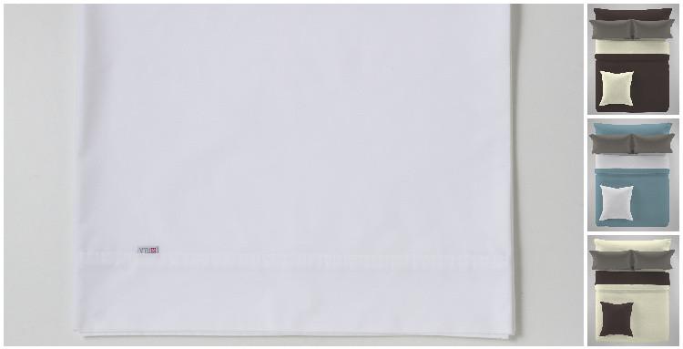 ENCIMERA LISA COMBI 100% ALGODÓN 200 HILOS blanco 001 200 cms blanco 001 180 cms blanco 001 150 cms blanco 001 135 cms blanco 001 105 cms blanco 001 90 cms