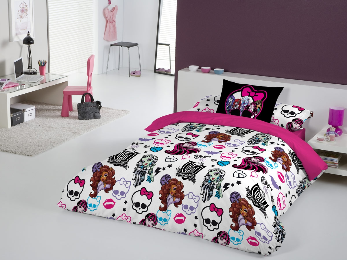 FUNDA NORDICA FUNNY DE MONSTER HIGH