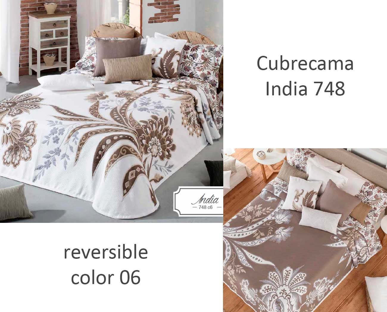 CUBRECAMA INDIA 748