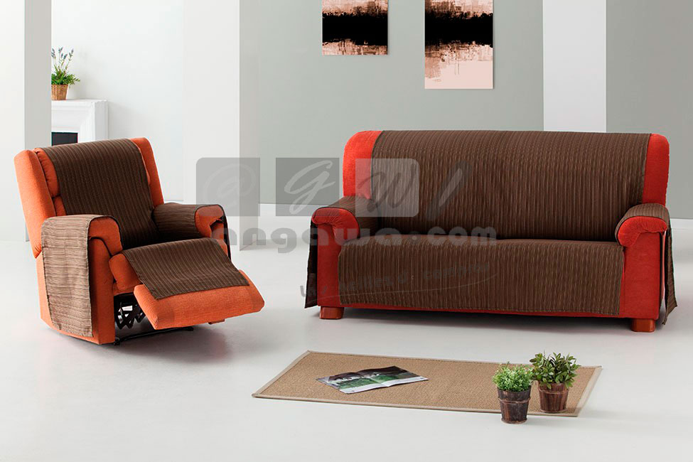 Funda de sofa pr ctica jara for Funda sofa 4 plazas
