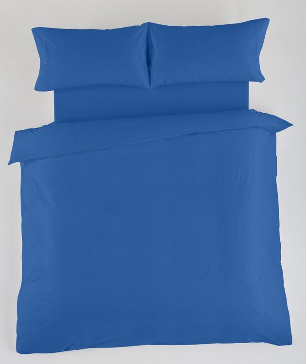 JUEGO DE FUNDAS NÓRDICAS LISAS 100% ALGODÓN Azulón 180 cms Azulón 150 cms Azulón 135 cms Azulón 105 cms Azulón 90 cms