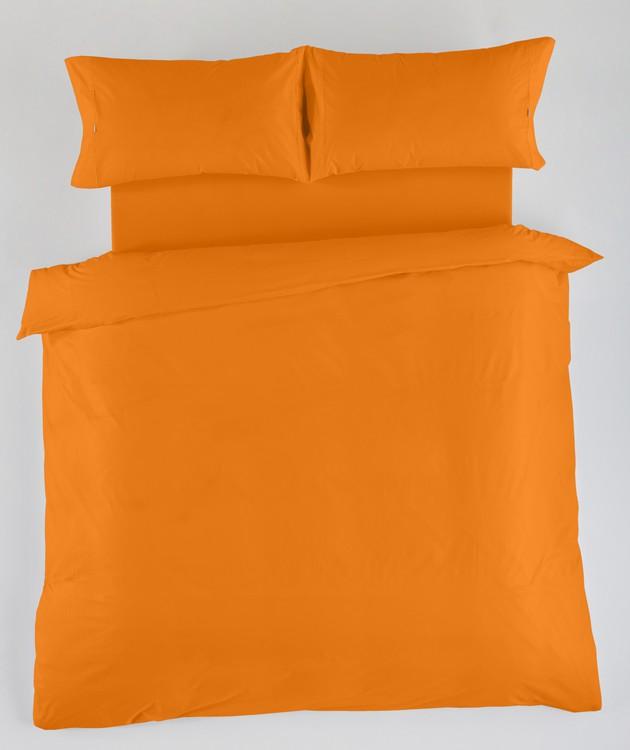 JUEGO DE FUNDAS NÓRDICAS LISAS Naranja 180 cms Naranja 150 cms Naranja 135 cms Naranja 105 cms Naranja 90 cms