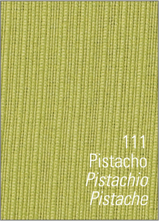 MANTELERIA RÚSTICO LISO APLIQUE Pistacho 155x300+12serv. Pistacho 155x250+12serv. Pistacho 155x200+8serv Pistacho 155x155+6serv