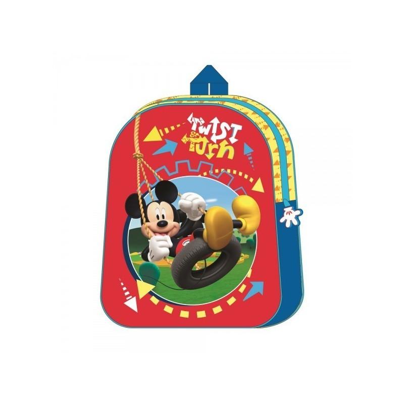 Mochila mickey mouse 31 cm colegio