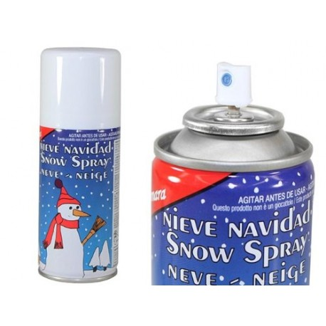 SPRAY ESPUMA NIEVE