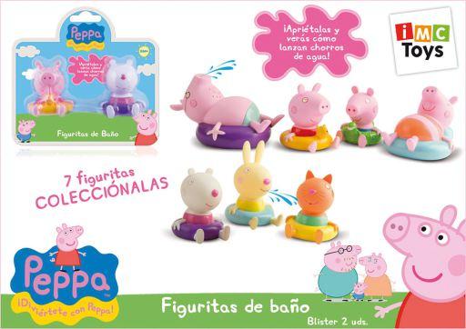FIGURITAS DE BAÑO PEPPA PIG