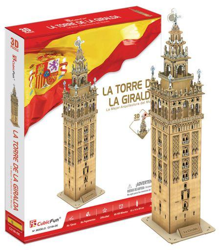 3D PUZZLE LA GIRALDA 55 PCS