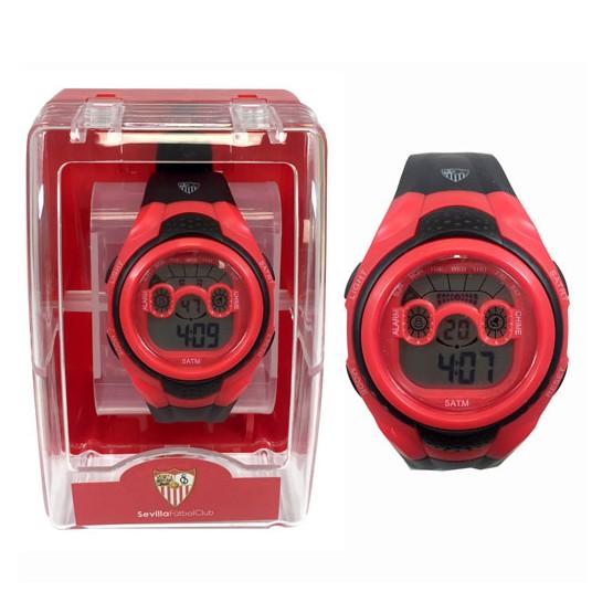 Reloj pulsera digital cadete Sevilla FC