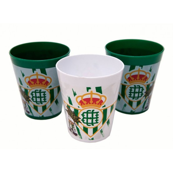SET 3 VASOS REAL BETIS
