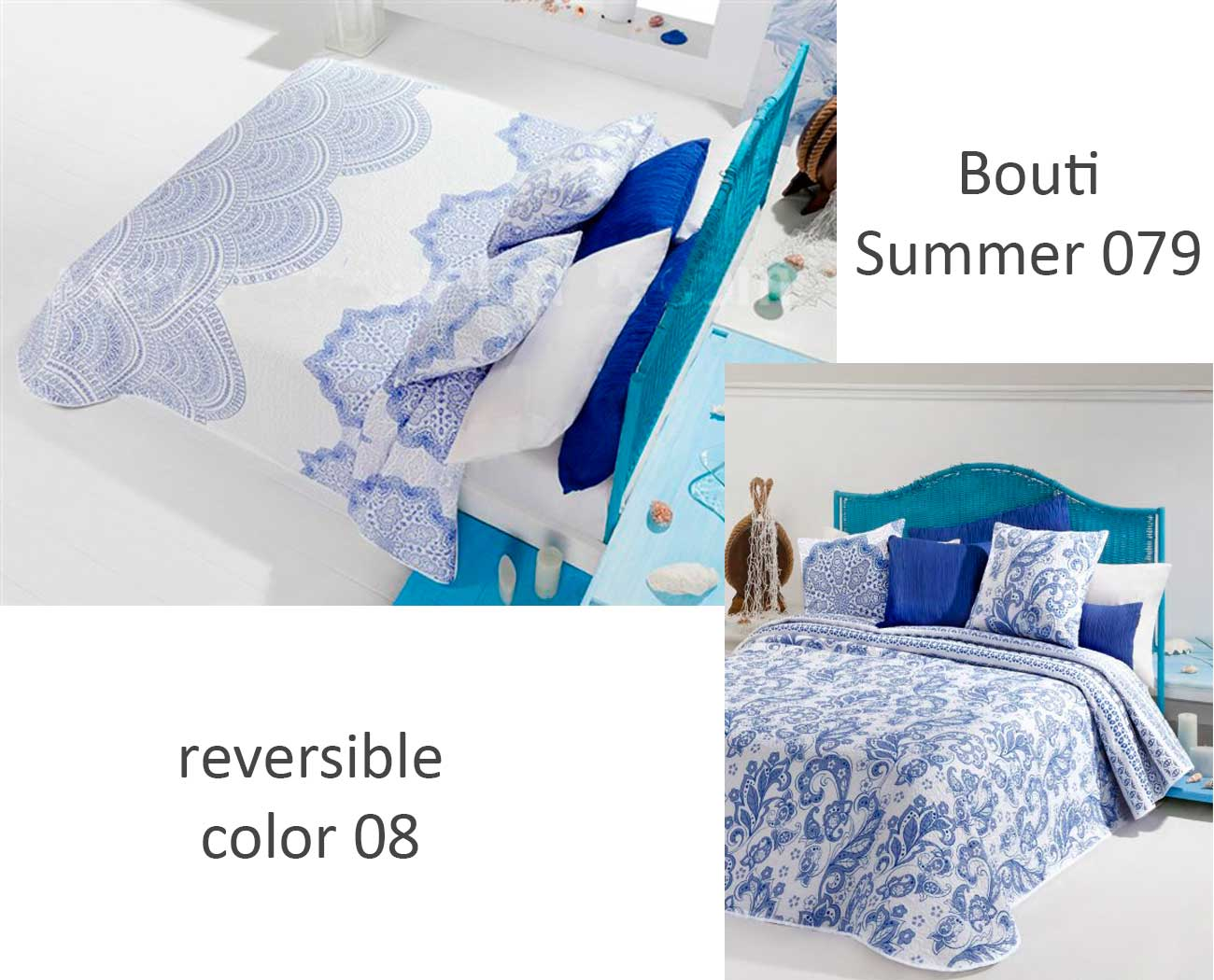 COLCHA BOUTI SUMMER 079 color 08 90 cms