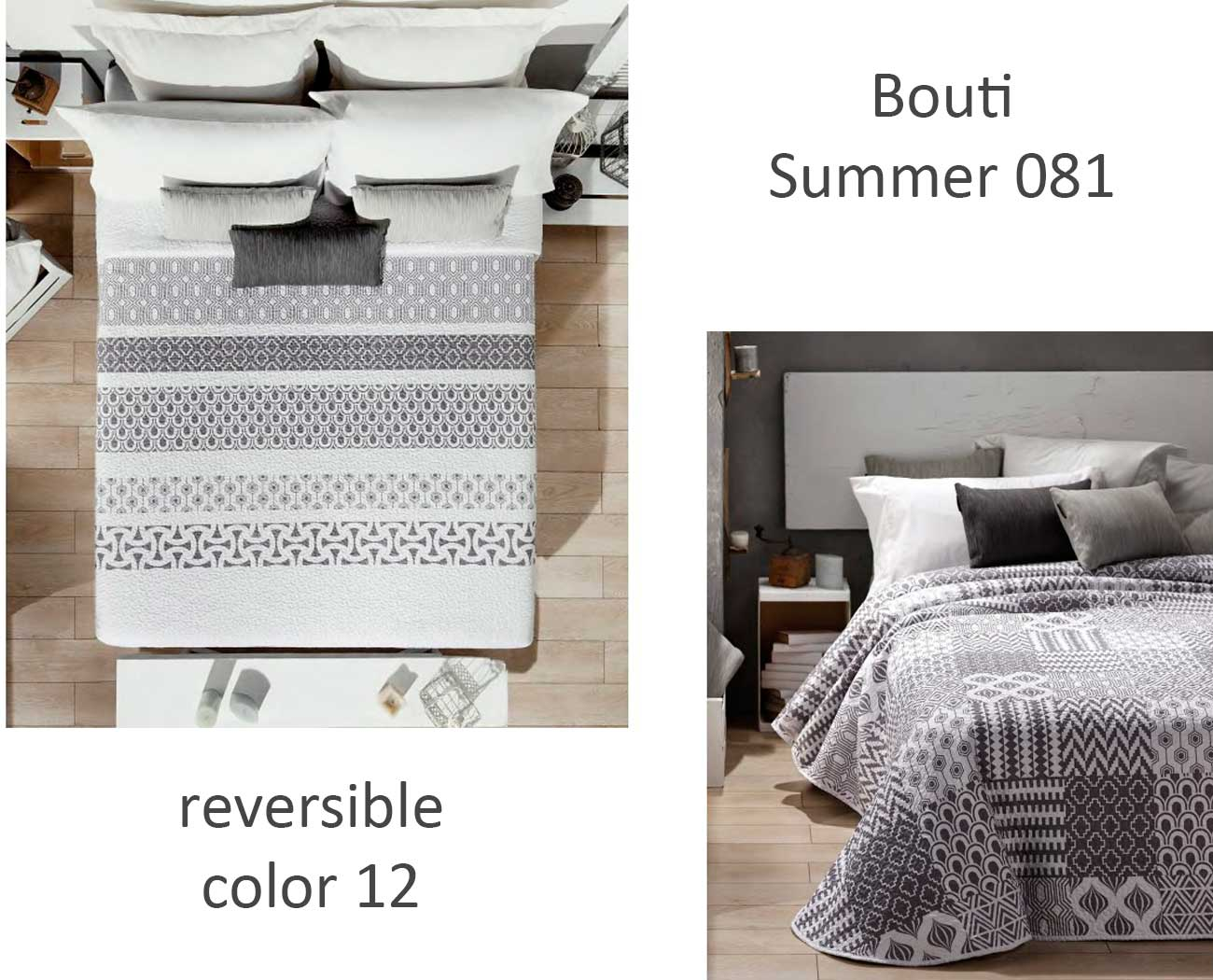 COLCHA BOUTI SUMMER 081 color 12 90 cms